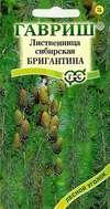 Насіння Модрина сибірська Бригантина 0,2 г (ТМ Гавриш)