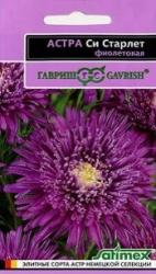 Насіння Айстри Сі Старлет фіолетова (0,1г)