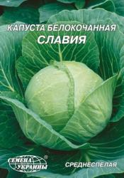 Насіння капусти білокачанної Славія 10г