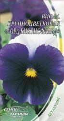 Насіння  Фіалка Великоквіткова Лорд Біконсфільд 0,1г