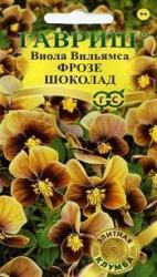 Насіння Фіалка Вільямса Фрозе Шоколад 5шт