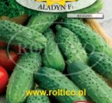 Насіння гранульоване огірок Аладін F1 50 шт (Roltico Польща)