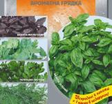 Набір насіння Ароматна грядка 9г