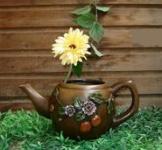 Декоративне кашпо «Чайник»