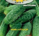 Насіння гранульоване огірок Крак F1 50шт (Roltico Польща)