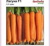 Насіння моркви Лагуна F1 400шт (Nunhems Голландія)