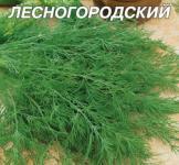 Насіння кропу Лісногородський 20г