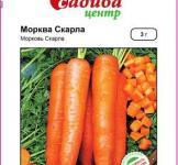 Насіння моркви Скарла 3г (Clause Франція)