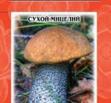 Насіння сухий міцелій грибів Підберезовик 10г