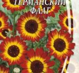 Насіння Хризантеми посівної Германський прапор (0,3г)